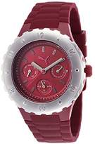 Puma Blast PU103442003 41mm Resin Case Red Resin Mineral Women's Watch