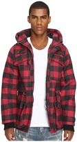 Mostly Heard Rarely Seen Plaid Field Coat Men's Coat