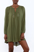 Tcec Open Neck Shift Dress