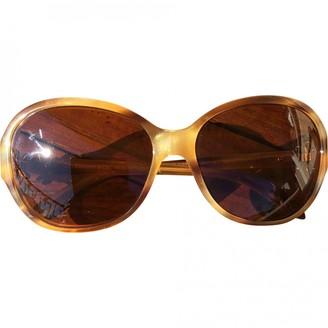 Tiffany & Co. Beige Plastic Sunglasses