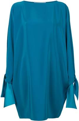 Gianluca Capannolo tied sleeves dress