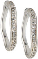 Marco Bicego Planetti 18k Diamond Pavé Hoop Earrings