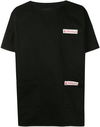 Raf Simons three-pocket short-sleeve T-shirt