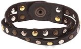 Campomaggi Studded Leather Bracelet