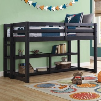 Mainstays Better Homes & Gardens Greer Twin Loft Storage Bed, Multiple Finishes