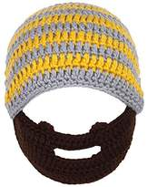 Simplicity Kid's Warm Winter Crochet/ Bearded Beanie Hats Caps