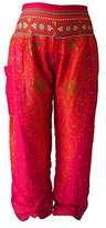 ASVP Shop Harem Hippie Baggy Pants Trousers, Yoga, Dance, Festival, Indian Thai Fisherman Pants