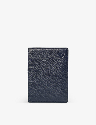 Aspinal of London Double Fold leather card holder