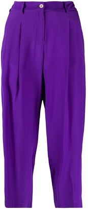 Jejia Pleated Cropped Trousers
