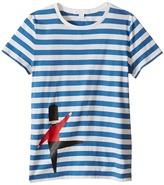 Burberry Acoustic Stripe Short Sleeve Tee Boy's T Shirt