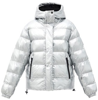Bogner Fire & Ice Ranja Hooded Quilted Ski Jacket - Silver