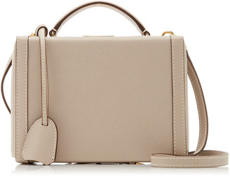 Mark Cross Grace Small Leather Top Handle Bag