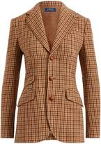 Ralph Lauren Houndstooth Wool Blazer