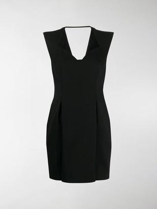 Versace Sweetheart Neckline Mini Dress