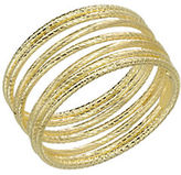 Lord & Taylor 14k Yellow Gold Textured Tube Ring