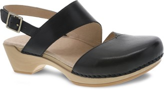Dansko Closed Toe Adjustable Leather Sandals -Kristy