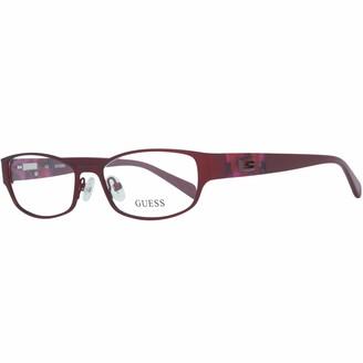 GUESS Women's Brille Gu2412 O92 52 Optical Frames