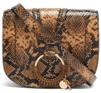 See by Chloe Hana Mini Python-effect Leather Cross-body Bag - Python
