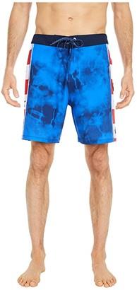 Hurley 18 Andino Fast Lane Pro Series (Game Royal) Men's Swimwear