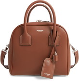 Burberry Small Cube Leather Satchel