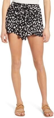 Lulus Yana Tie Waist Shorts