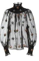 Jill Stuart Viktoria Embroidered Blouse