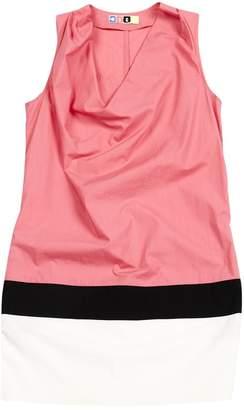 MSGM Pink Cotton Dresses