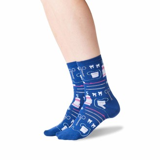 Hot Sox Women's Dentist Crew Socks
