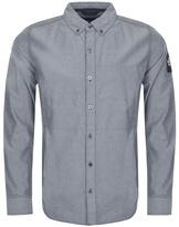 The North Face Denali Long Sleeve Shirt Navy