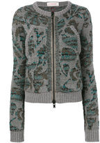 A.F.Vandevorst abstract pattern jumper - women - Virgin Wool - S