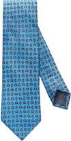 Eton Blue Paisley Print Tie