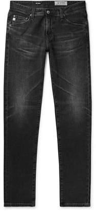 AG Jeans Tellis Slim-fit Stretch-denim Jeans - Black