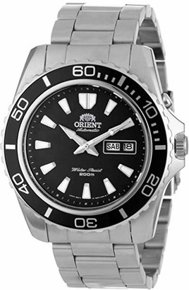 Orient Men's 'Mako XL' Japanese Automatic Stainless Steel Diving Watch Color:Silver-Toned (Model: FEM75002DW)