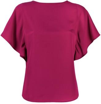 Etro draped-sleeve T-shirt