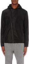 The Kooples Asymmetric zip shell jacket