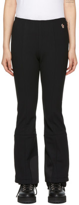 MONCLER GRENOBLE Black Performance Ski Lounge Pants