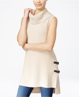 Amy Byer Juniors' High-Low Cowl-Neck Sweater Tunic