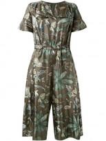 Muveil jungle print jumpsuit