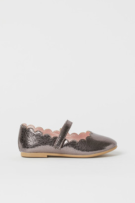 H&M Ballet Flats - Silver
