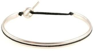 M. Cohen Slim Oval Silver Cuff