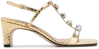 Sergio Rossi T-bar sandals