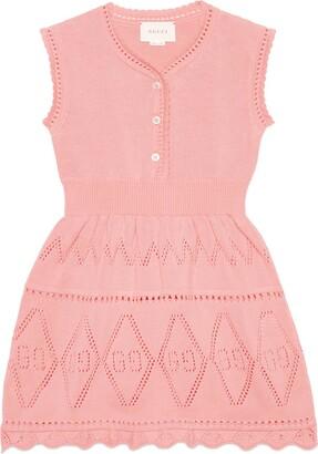 Gucci Children's GG cotton dress