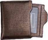 American Trends Men's Bifold Wallets Business Leather Purse Card Case Holder