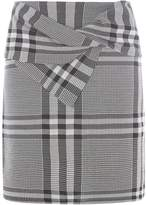 Dorothy Perkins Check Bow Mini Skirt