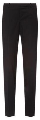 HUGO BOSS Slim-fit trousers in a virgin-wool blend