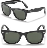 Folding Polarized Wayfarer Sunglass