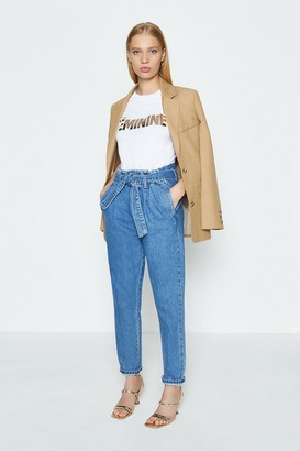 Coast Feminine Beaut Foil Front Print T-Shirt