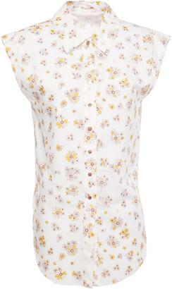 See by Chloe Floral-print Cotton-poplin Shirt