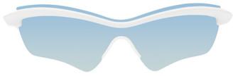 Maison Margiela White Mykita Edition MMECHO005 Sunglasses