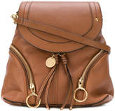 See by Chloé hoop flap backpack